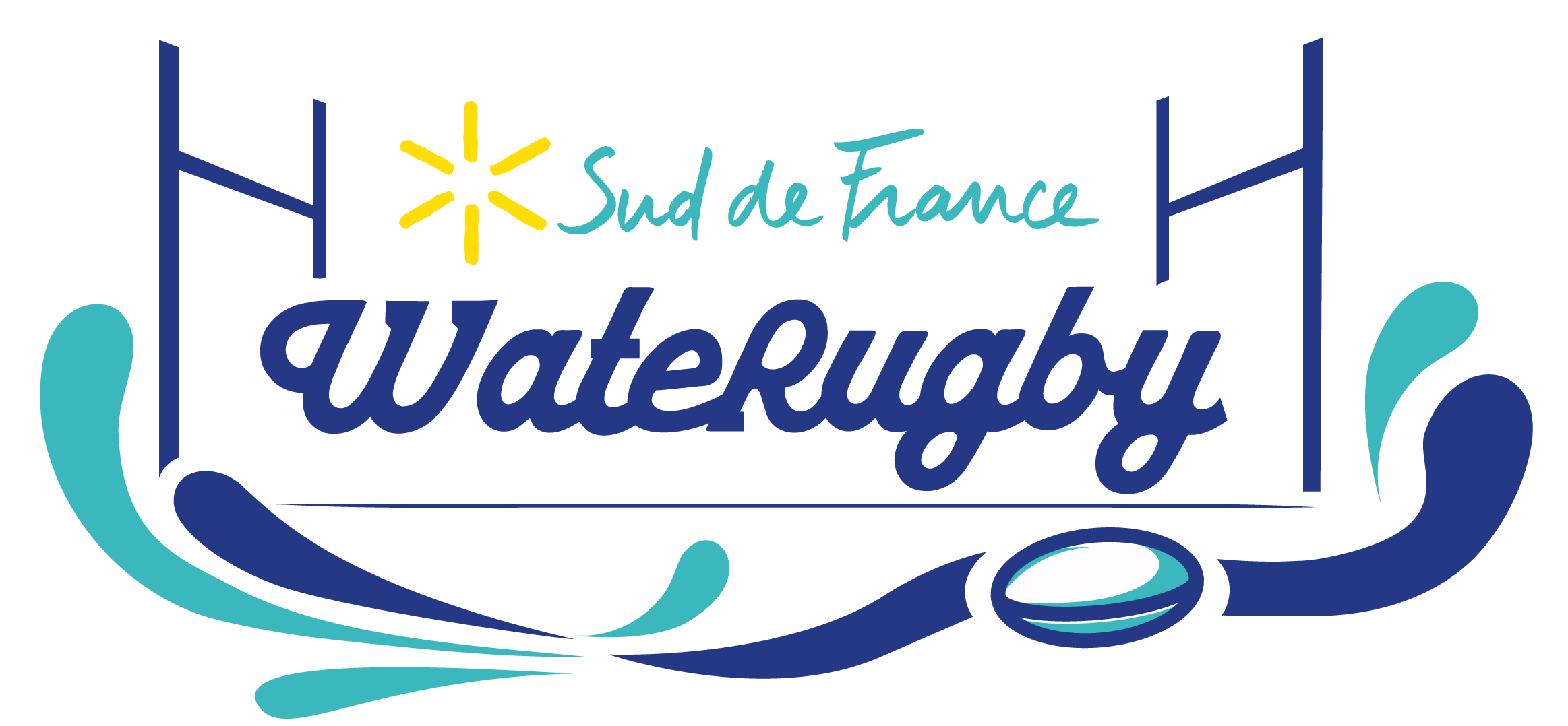 Logo WateRugby - Sud de France